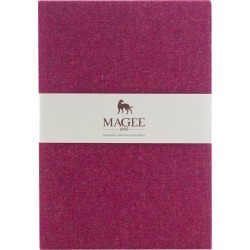 Magee 1866 Pink Donegal Tweed Notebook A4 found on Bargain Bro UK from Magee 1866