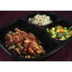 Santa Fe Chicken with South West Sauce, Lemon Cilantro Brown Rice and Mixed Vegetables - Individual Meal
