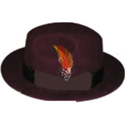 Mens Untouchable Burgundy Hat
