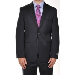 Ralph Lauren Solid Navy Dress Suit Separates Portly CUT found on MODAPINS from mensusa for USD $300.00