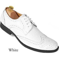 Mens White dress shoes