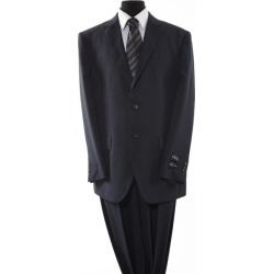 Mens Black 2 Piece 2 Button Suit found on Bargain Bro Philippines from mensusa for $150.00