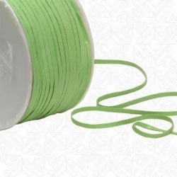 "1/8"" FAUX LEATHER TAPE - LIME"