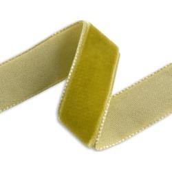 36MM IMPORTED VELVET RIBBON - OLD GOLD found on Bargain Bro Philippines from M&J Trimming Affiliate Program for $2.98