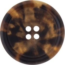 Horn Button-27mm-RED BROWN found on Bargain Bro Philippines from M&J Trimming Affiliate Program for $4.98