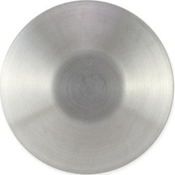 METAL BUTTON W/SHANK - SILVER/MATTE BRUSH found on Bargain Bro Philippines from M&J Trimming Affiliate Program for $1.59