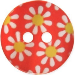 2-HOLE DAISY BUTTON found on Bargain Bro from M&J Trimming Affiliate Program for $0.98