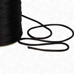 2MM RATTAIL CORD - BLACK found on Bargain Bro India from M&J Trimming Affiliate Program for $0.98
