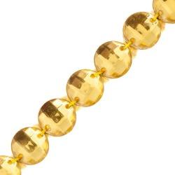 SINGLE ROW JEWELED TRIM-GOLD