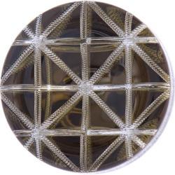 Geometric Button 20mm RUST title=
