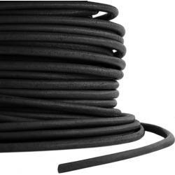 2MM ROUND LEATHER CORD - BLACK found on Bargain Bro India from M&J Trimming Affiliate Program for $1.98