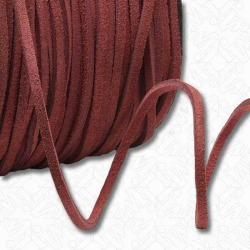 3MM SPLIT SUEDE - RED found on Bargain Bro Philippines from M&J Trimming Affiliate Program for $1.98