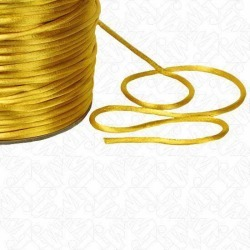 2MM RATTAIL CORD - GOLD found on Bargain Bro India from M&J Trimming Affiliate Program for $0.98