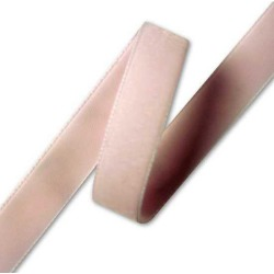 7MM IMPORTED VELVET RIBBON - PALE PINK found on Bargain Bro India from M&J Trimming Affiliate Program for $0.98