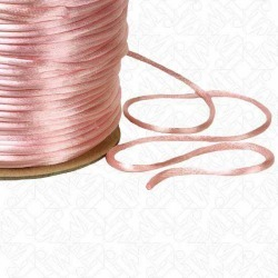 1MM RATTAIL CORD - ICE PINK found on Bargain Bro from M&J Trimming Affiliate Program for $0.59