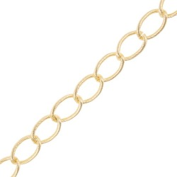 19MM METAL CHAIN-19mm-GOLD found on Bargain Bro Philippines from M&J Trimming Affiliate Program for $5.98