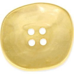 METAL BUTTON 4-HOLES - GOLD