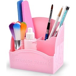 Nail Art Storage Box Plastic Nail Tool For Women found on MODAPINS from Milanoo.com Ltd for USD $4.99