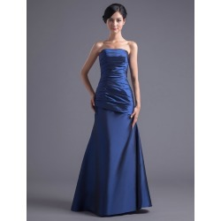 Royal Blue Strapless Bridesmaid Dress found on MODAPINS from Milanoo.com Ltd for USD $120.99