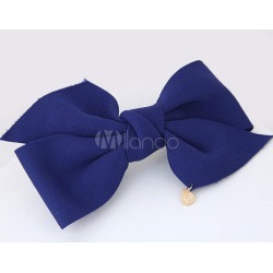 Bow Hair Clip Blue Hair Accessories For Women found on Bargain Bro India from Milanoo.com Ltd for $3.99