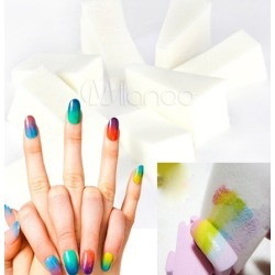 10-Pcs Gradient Nail Art Sponge Sets