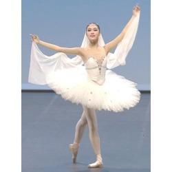 Ballet Dance Costume White Ballet Dress Beading Camisole found on Bargain Bro Philippines from Milanoo.com Ltd for $36.99