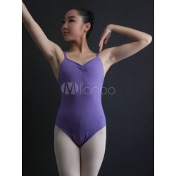 Purple Ballerina Costumes Women's U Neck Sleeveless Ballet Leotards found on Bargain Bro India from Milanoo.com Ltd for $14.99