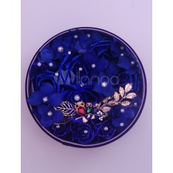 Gifts Blue Rose Artificial Flower Box