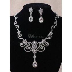 Flower Jewelry Sets Elegant Lucky Cloud Wedding Jewelry Sets