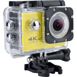 "Smart Action Camera 4K FHD 2"" Screen High FPS DV 45m Waterproof Wifi Aerial Camera"