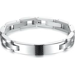 Popular Carbon Fiber Stainless Steel Men's Chain Bracelet found on MODAPINS from Milanoo.com Ltd for USD $15.99
