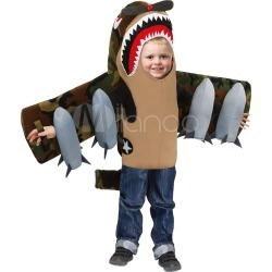Kids Shark Costume Halloween Grey Boys Color Block Holiday Costume