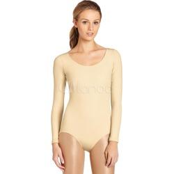 Nude Ballet Dance Costume Slim Fit Lycra Spandex Teddies for Women found on Bargain Bro Philippines from Milanoo.com Ltd for $27.99