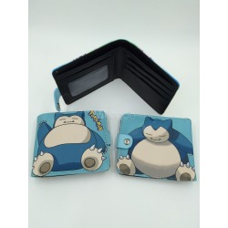 Pokemon Go Pokemonster Snorlax Anime Wallet Halloween