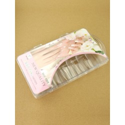 100-Pcs High Quality Transparent Nail Tips found on Bargain Bro India from Milanoo.com Ltd for $6.99