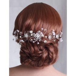 Sweet Beading Rhinestone Wedding Accessories For Bride