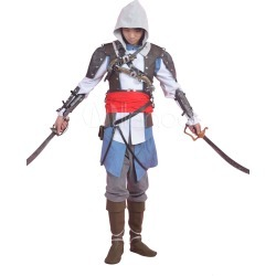 Inspired By Assassin's Creed 4 Black Flag Edward. Ken Halloween Cosplay Costume found on Bargain Bro Philippines from Milanoo.com Ltd for $274.49