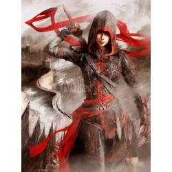 Inspired By Assassin's Creed Chronicles China Shao Yun Halloween Cosplay Costume found on Bargain Bro Philippines from Milanoo.com Ltd for $454.99