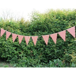 Paper Pennant Wedding Decorations