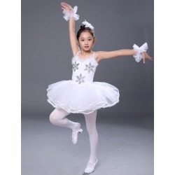 Ballet Dance Costumes 2018 White Strappy Rhinestones Beaded Slim Fit Tutu Dresses found on Bargain Bro India from Milanoo.com Ltd for $15.99