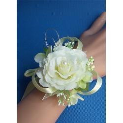 Ivory Silk Satin Bridal Corsage Wedding Corsage found on Bargain Bro India from Milanoo.com Ltd for $11.99