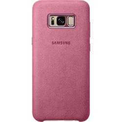 Samsung Galaxy S8+ Alcantara Back Cover - Pink
