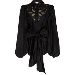 Acler Vicount Tie-Front Cotton Broderie Anglaise Blouse found on MODAPINS from Moda Operandi for USD $350.00