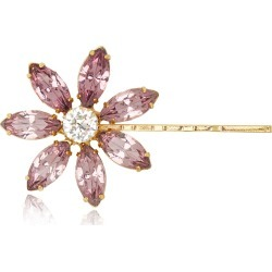 Jennifer Behr Santana Crystal-Embellished Floral Bobby Pin found on MODAPINS from Moda Operandi for USD $120.00