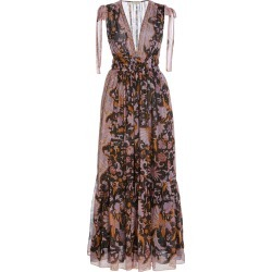 Ulla Johnson Annalise Silk Floral Dress