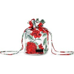 Ganni Floral Recycled Tech Top Handle Bag found on Bargain Bro Philippines from Moda Operandi for $85.00