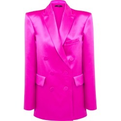 Alex Perry Carlyon Cotton-Silk Double-Breasted Blazer found on MODAPINS from Moda Operandi for USD $2600.00