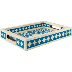 Wicklewood Small Floral Inlay Tray