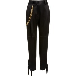 Hellessy Donker Tie-Detailed Satin-Crepe Pants found on MODAPINS from Moda Operandi for USD $890.00
