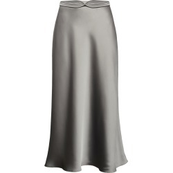 Anna October Dido Satin Midi Skirt found on MODAPINS from Moda Operandi for USD $189.00